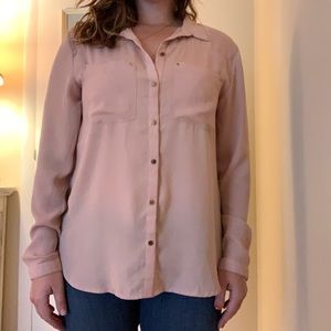 H&M business casual button down blouse